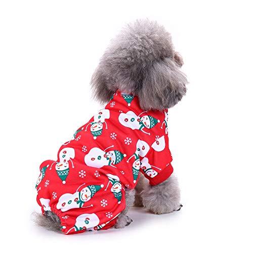 Haustier Weihnachten Kostüm Schneemann Hund Welpen Kleid, Haustier Hund Katze Kleidung Hoodie Kostüme, Weihnachten Kostüm, Weihnachten Haustier Hund Kostüm Tuch, Party Kleidung für Katze kleiner - Schneemann Kostüm Für Hunde