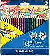 Staedtler Noris Colour 185 C24 Colouring Pencil - Assorted Colours