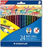 Staedtler Noris Colour 185 C24 Colouring Pencil - Assorted Colours
