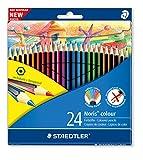Staedtler 185 C24 Noris Colour Colouring Pencil - Assorted Colours Bild