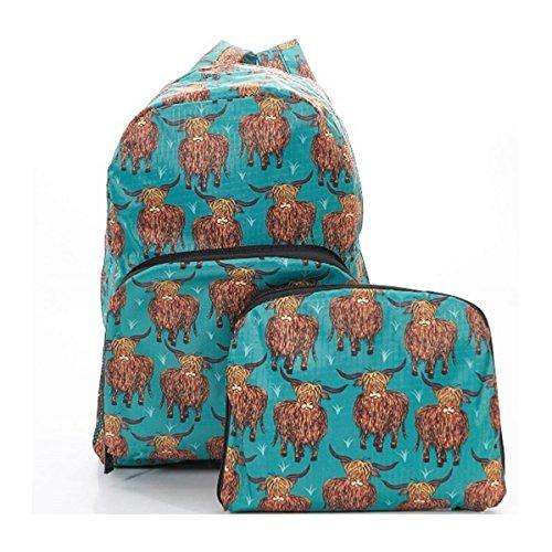Eco Chic , Sac à main porté au dos pour femme bleu bleu sarcelle Hand luggage