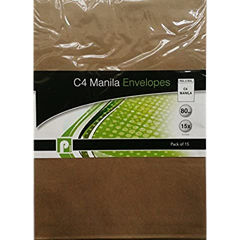 30buste Seal Manilla C4/2confezioni da 15