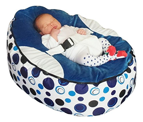 Baby bean bag snuggle bed bouncer with filling 51Fv0fXIOCL