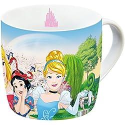 Disney 12766Princess Grupo Taza de porcelana, multicolor, 11,5x 8x 8cm