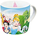 Disney 12766 Princess Gruppe Porzellantasse, mehrfarbig, 11,5 x 8 x 8 cm