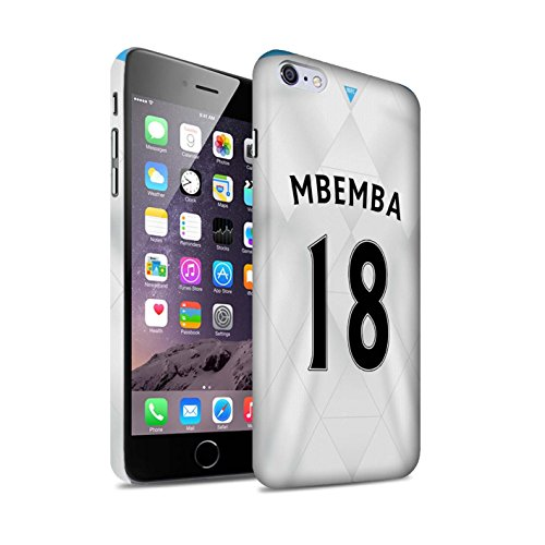 Offiziell Newcastle United FC Hülle / Matte Snap-On Case für Apple iPhone 6S+/Plus / Pack 29pcs Muster / NUFC Trikot Away 15/16 Kollektion Mbemba