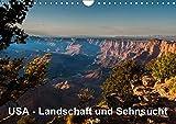 USA – Landschaft und Sehnsucht (Wandkalender 2017 DIN A4 quer): Faszinierende Eindrücke aus dem wunderbaren Südwesten der USA. (Monatskalender, 14 Seiten ) (CALVENDO Orte)