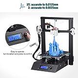 FLOUREON J1 Impresora 3D DIY de Aluminio con Estructura de Metal...