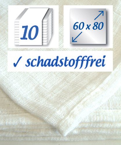 10-Stck-Mullwindel-60x80cm-Baumwolle-bis-95-kochfest-das-Original-der-Klassiker-rezzu