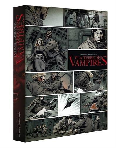 La terre des vampires, Intégale : Coffret en 3 volumes : Tome 1 Exode ; Tome 2 Requiem ; Tome 3 Résurrection