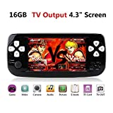 "Anbernic Handheld Game Console , 4.3"" 3000 Classic Portable Game Console PAP-KIII"