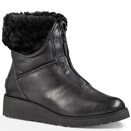 Ugg Australia Women's Caleigh Women's Leather Boots In Chestnut Noir