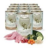 AniForte® PureNature Hundefutter Greenfield Turkey 12 x 400g - Naturprodukt für Hunde