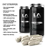 LA Muscle Fat Stripper Weight Management Pills 21 Capsules. Very Strong Weight Loss Diet Pills Fat Burners for Men & Women (Works much faster than Raspberry Ketones), No.1 Slimming Supplement Lose Weight. Lifetime Money Back Guarantee, Risk Free Purchase