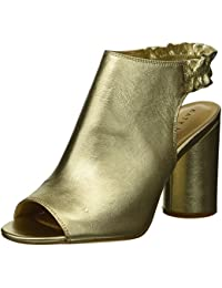 5ae5d9ab263 Katy Perry Women s The Jocelyn-Tumbled Metallic Heeled Sandal