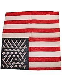 Bandanas foulard homme femme drapeau usa américain ou union jack e79cbde687d