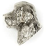 DANDIE DINMONT TERRIER Made in U.K Artistic Style Dog Clutch Lapel Pin Collection by DOG ARTS JP