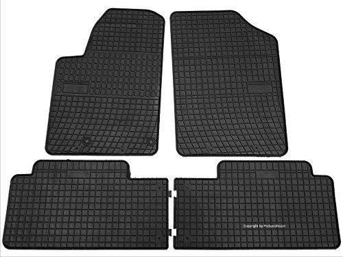 Preisvergleich Produktbild Gummi Auto Fußmatten exakter Passform 4-teilig CTR-TP-0645