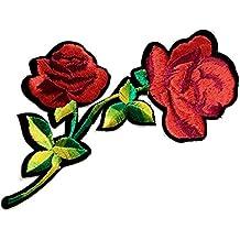 parches-flores-termoadhesivos bordados aplique para ropa