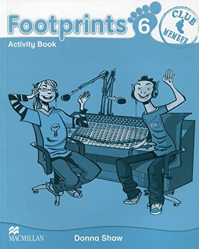 Footprints 6 Activity Book por Donna Shaw