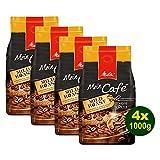 Melitta Mein Café MILD Roast, Kaffeebohnen, 4x 1000g (4000g) - Kaffee mit feiner fruchtiger Note!