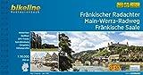 Fränkischer Radachter Main-Werra-Radweg Fränkische Saale (Bikeline Radtourenbücher) - Esterbauer Verlag