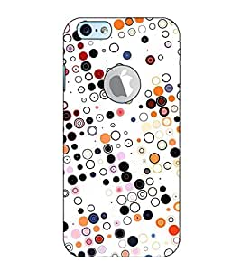 Fuson Designer Back Case Cover for Apple iPhone 6S (Logo View Window Case) (Designer Pattern Design Art)