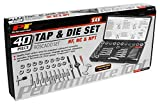 Performance Tool W4001DB 40-Piece SAE Tap and Die Set