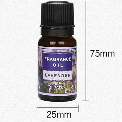 Flushzing 6PCS / Set Pure Natural Aromaöle Kit 10ml Luftbefeuchter Wasserlösliche Duftöl Massage-wesentliches Öl - Duft Additiv Luftbefeuchter