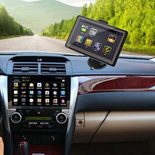 YSHtanj GPS y accesorios GPS Tracker 7 pulgadas visualización coche vehículo Bluetooth...