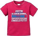 Luckja Kritik zur Kenntnis genommen... Ignoriervorgang eingeleitet Baby T-Shirt