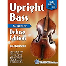 Upright Bass Primer Book For Beginners Deluxe Edition with Video & Audio Access (English Edition)