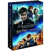 Harry Potter l'Intégrale des 8 Films + Les Animaux Fantastiques - Le monde des Sorciers de J.K. Rowling - Coffret DVD
