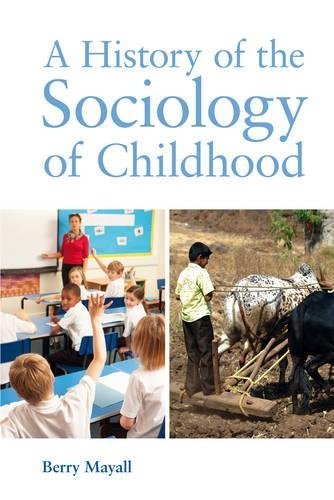 A History of the Sociology of Childhood