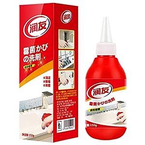 Volwco Schimmelentferner Gel, Anti-Geruchs-Entferner, Reinigungsgel, Entferner-Gel, Haushaltswunder, Tiefenreiniger, Dichtgel, Küche und Badezimmer, japanische Formel