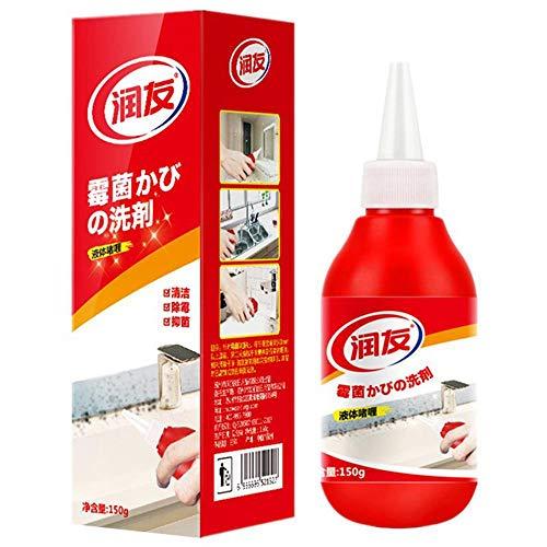 Volwco Schimmelentferner Gel, Anti-Geruchs-Entferner, Reinigungsgel, Entferner-Gel, Haushaltswunder, Tiefenreiniger, Dichtgel, Küche und Badezimmer, japanische Formel -