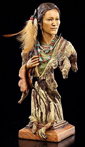 Indianer Figur Büste - Aiyana Indianer Büste