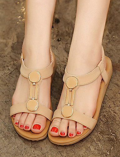UWSZZ Die Sandalen elegante Comfort Schuhe Frau - Schuhe - Formale/casual/Abend und Fest - Fersen/Socket/ein Tipp - mandrin - Farbe - Schwarz/Rosa/silber-US 8 / EU 39/UK6/CN 39, silber-US 8 / EU 39/UK Black