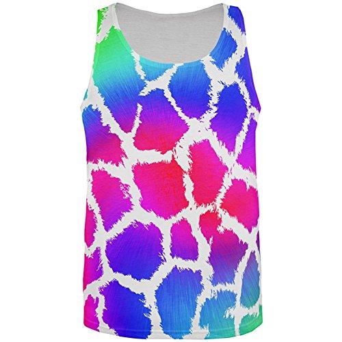 Zeigen Sie Ihre Farben Spots Gay Pride Regenbogen aller Herren Tank Top Multi SM (Spot Print Tank)