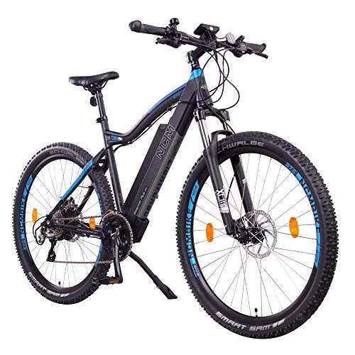 "NCM Moscow Plus E-Bike, E-MTB, E-Mountainbike 48V 16Ah 768Wh (27,5"" Plus, Schwarz)"