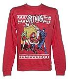 DC Comics Batman und Robin Unisex Weihnachtspullover