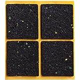 peha® Almohadilla antideslizante peha® (impide que muebles, sofás o mesas sedeslicen), autoadhesiva | 48 x 48 mm (4 piezas)