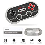 8Bitdo Controller Wireless Retropie, N30 Pro 2 Game Gamepad per PC / Android / Switch / MacOS / Steam
