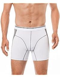 Herren Shorts mit längerem Bein - Radfahrer Shorts Herren Unterhose langes Bein