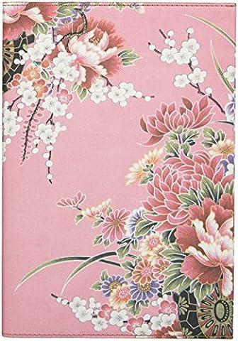 Daycraft Cahier ligné A4 Motifs fleurs