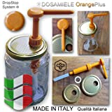 "DOSAMIELE DISPENSER PER MIELE OrangePlus Garanzia ""Made in Italy"" ( Pouss miel, Pump honey dispenser, Honigspender )"