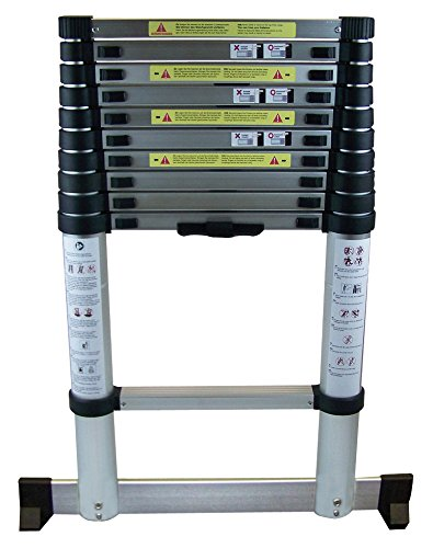 Berger + Schröter AluminiumTeleskopleiter 3,8 m, 1 Stück, 60569
