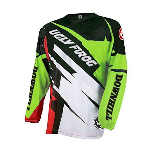 Uglyfrog Hiver Thermique Manche Longue Downhill Jersey DH/AM/XC/FR/MTB/BMX/VTT/Moto/Enduro/Offroad...