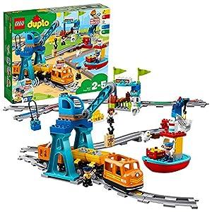 Lego - Duplo Il Grande Treno Merci, Set di Costruzioni per Bambini 2-5 Anni, 10875 99, months LEGO