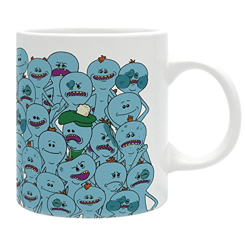 ABYstyle – Dc Comics Rick And Morty Taza Meeseeks para adultos, ab